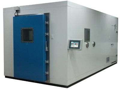 Maintenance and operation of walk-in temperature humidity test chamber